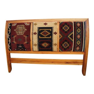 Handmade Tapestry Upholstered King Headboard