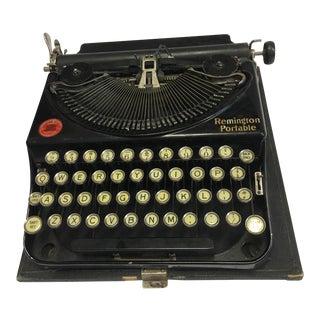 An Old Vintage Remington Portable Typewriter