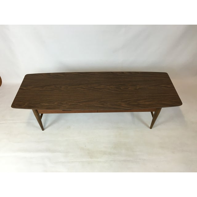 Lane Mid-Century Surfboard Coffee Table - Image 6 of 7