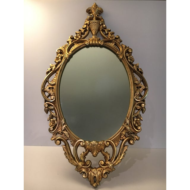 Burwood Products Gold Ornate Mirror - Image 3 of 8