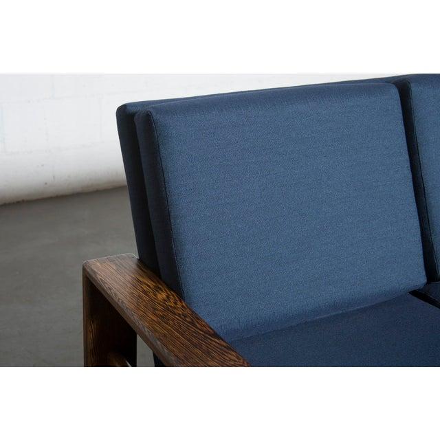 Wenge 70's Mod Love Seat - Image 6 of 8
