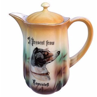 English Souvenir Dog Pitcher