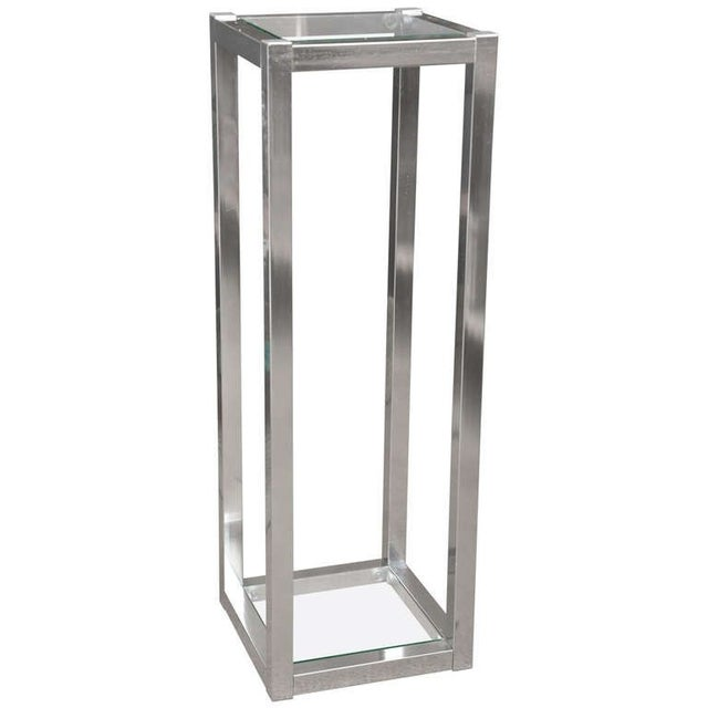 1970's Metal Sculpture Stand - Image 1 of 4