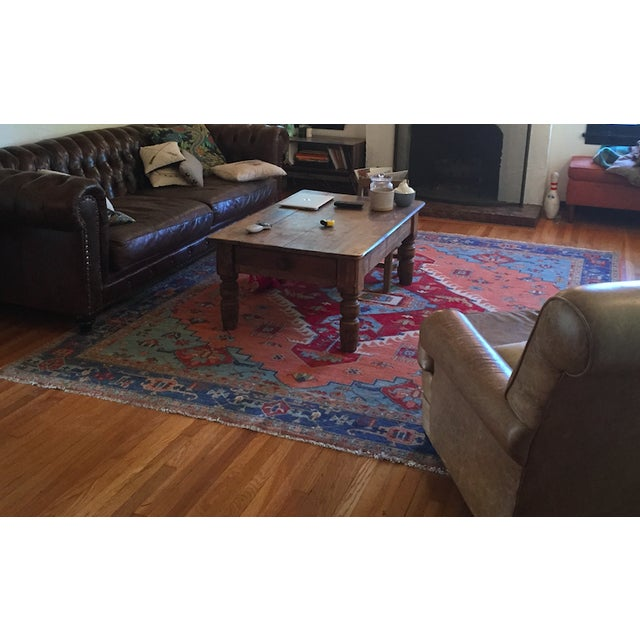 Persian Hand-Knotted Blue Rug - 8' x 11' - Image 2 of 2