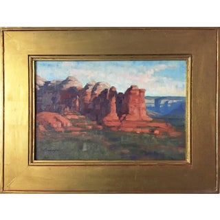 Southwestern Landscape Painting by Cunningham
