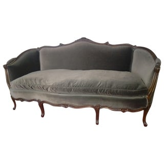 Vintage French Style Louis XV Sofa