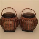 Image of Chinese Baskets- A Pair