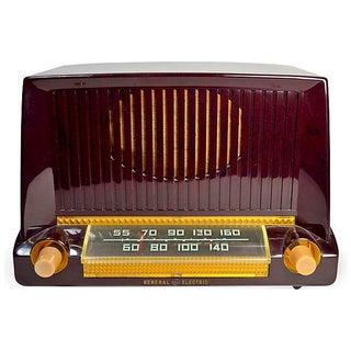 General Electric Bakelite Radio