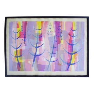"""GT Raymond Vintage 1964 """"Enchanted Forest"""" Print"""