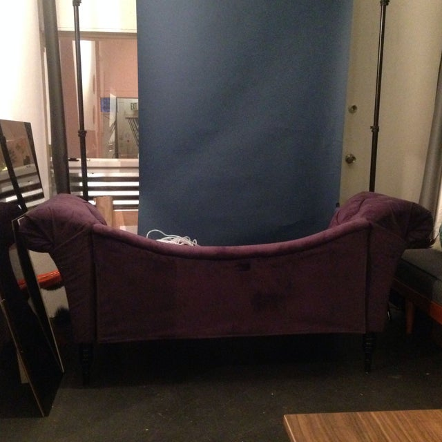 Purple Chaise Lounge - Image 5 of 7