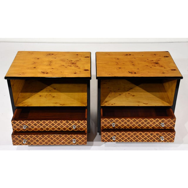 Pair of Mid-Century Modern Nightstands or Side Tables - Image 3 of 10