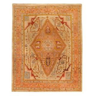 Antique Mid-19th Century Turkish Oushak Carpet