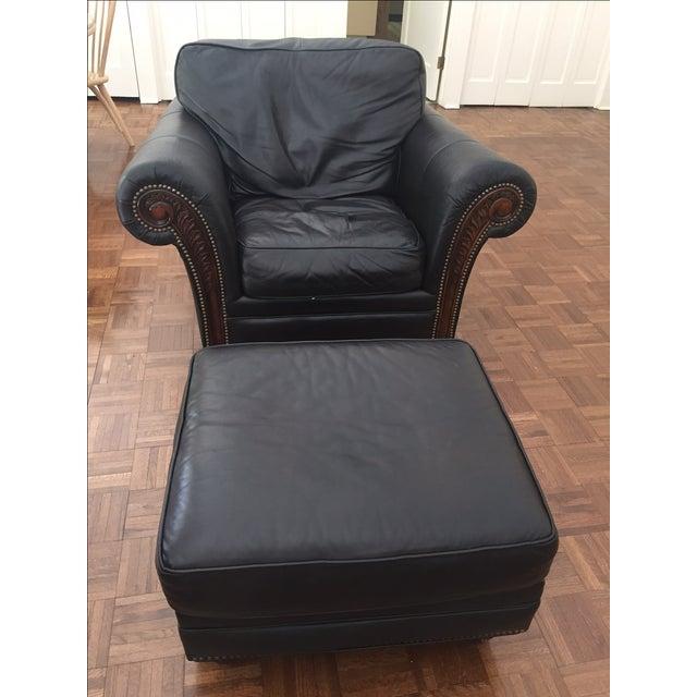 Alexander Taylor Old World Chair & Ottoman