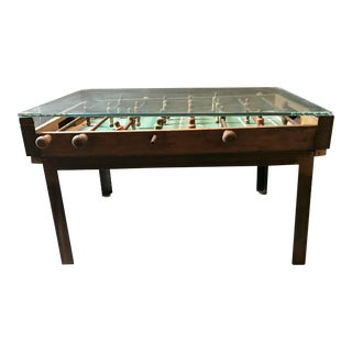 Antique Foosball Coffee Table