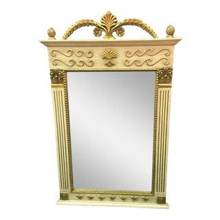 Wood & Gilt Italian Style Mirror
