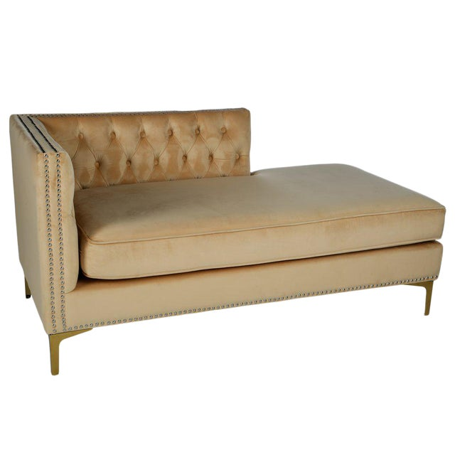 Statements By J Harper Tufted Chaise - Image 1 of 3