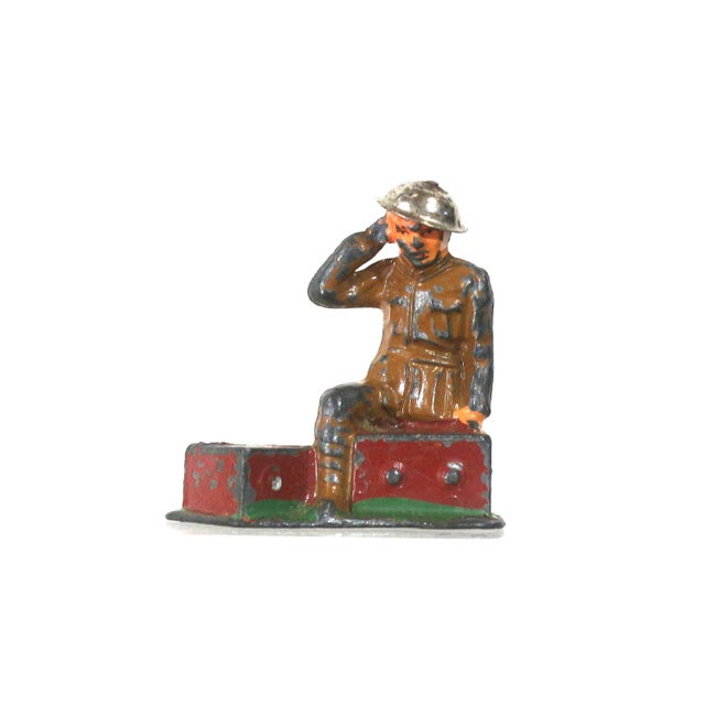 Image of 1940s Set of Lead War Toys