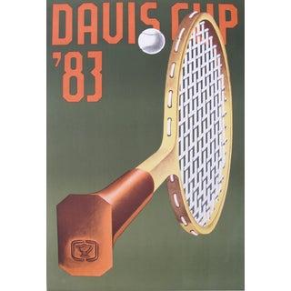 Klapcheck 1983 Davis Cup Tennis Retro Sports Print