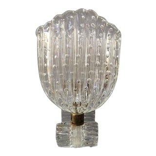 Barovier and Toso Murano Glass Sconces - A Pair