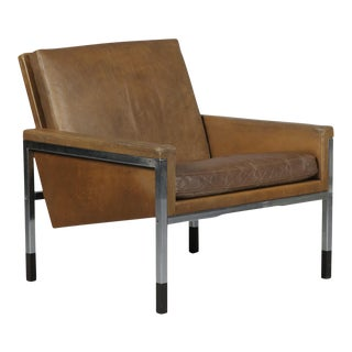 Leather Club Chair by Steen Ostergaard