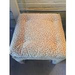 Image of Scalamandre Leopard Print Bench/Ottoman