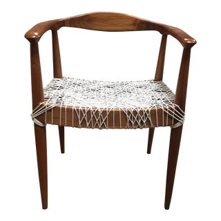 Teak Me Home Reclaimed Teak Wood Ludloe Arm Chair