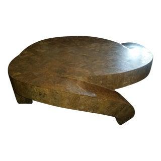 Designer Contemporary Brown Coffee Table