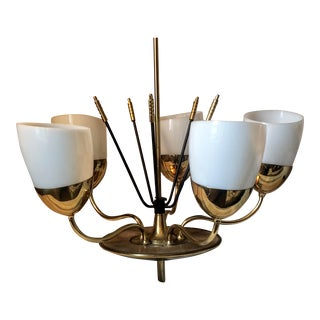 Majestic M.S.&S. Co Mid-Century Chandelier