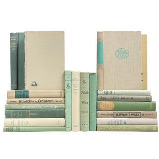 Mossy Green Mixed Books - Set of 20