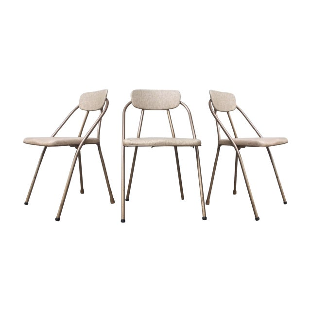Mid-Century Stylaire Folding Chair - Set of 3 - Image 1 of 11