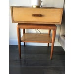 Image of Vintage Mid-Century Nightstands - A Pair