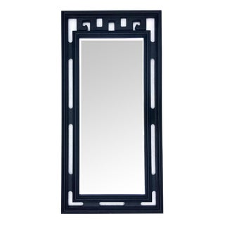 Vintage James Mont Style Greek Key Mirror