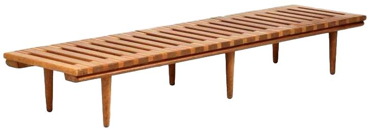 John Keal For Brown Saltman Low Bench Table
