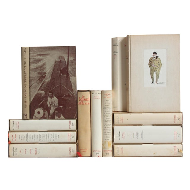 French Slipcased Literature Books - Set of 12 - Image 1 of 2