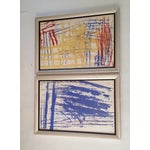 Image of Jennifer H. Abstract Paintings - Pair