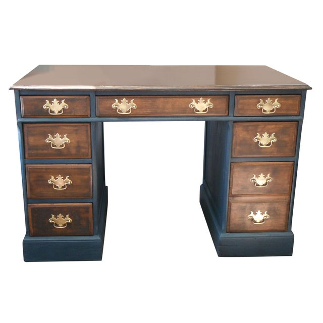 Antique Painted Federal Style Desk - Image 1 of 11