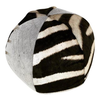 Zebra Ball Pillow