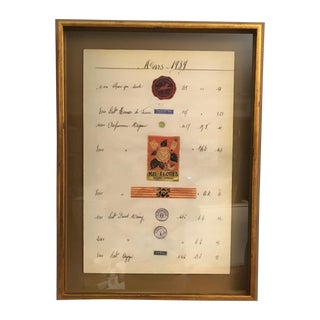 Soicher Marin French Themed Apothecary Print