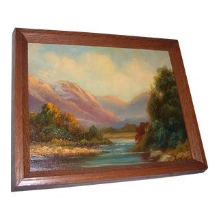Paul Wesley Arndt Hudson Valley Oil Painting