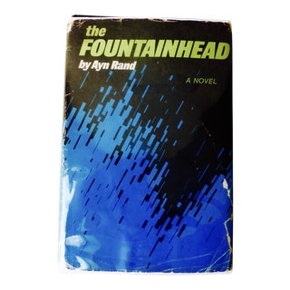 1943 Fountainhead Book by Ayn Rand
