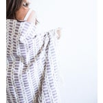 Image of Mauve Handwoven Mexican Throw