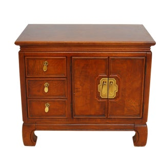 Vintage Thomasville Asian Style Side Table