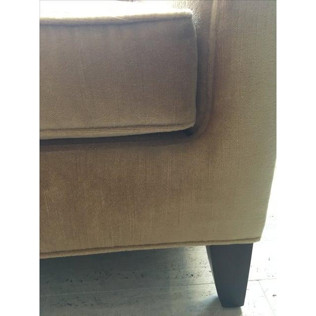 Todd Hase Neutral Teddy Silk Mohair Sofa - Image 5 of 5