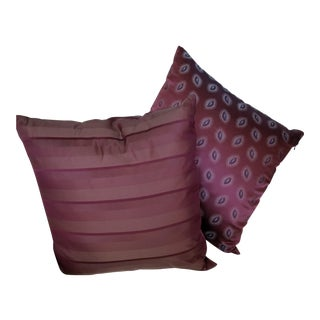 Eric Soroe Handmade Designer Pillows - a Pair