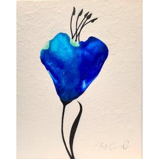 """Botanical Resin Tulip"" Original Acrylic Painting"