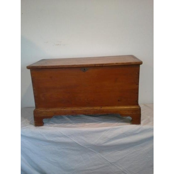 Image of 1800's New England Blanket Box