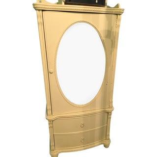 Pottery Barn White Closet W Mirror