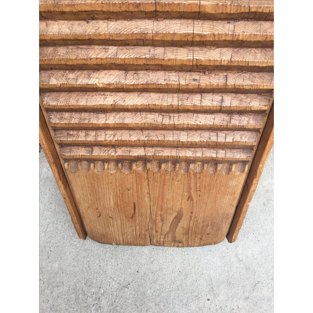 Rustic European Washboard - Image 8 of 9
