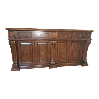 Marge Carson Marble Top Credenza