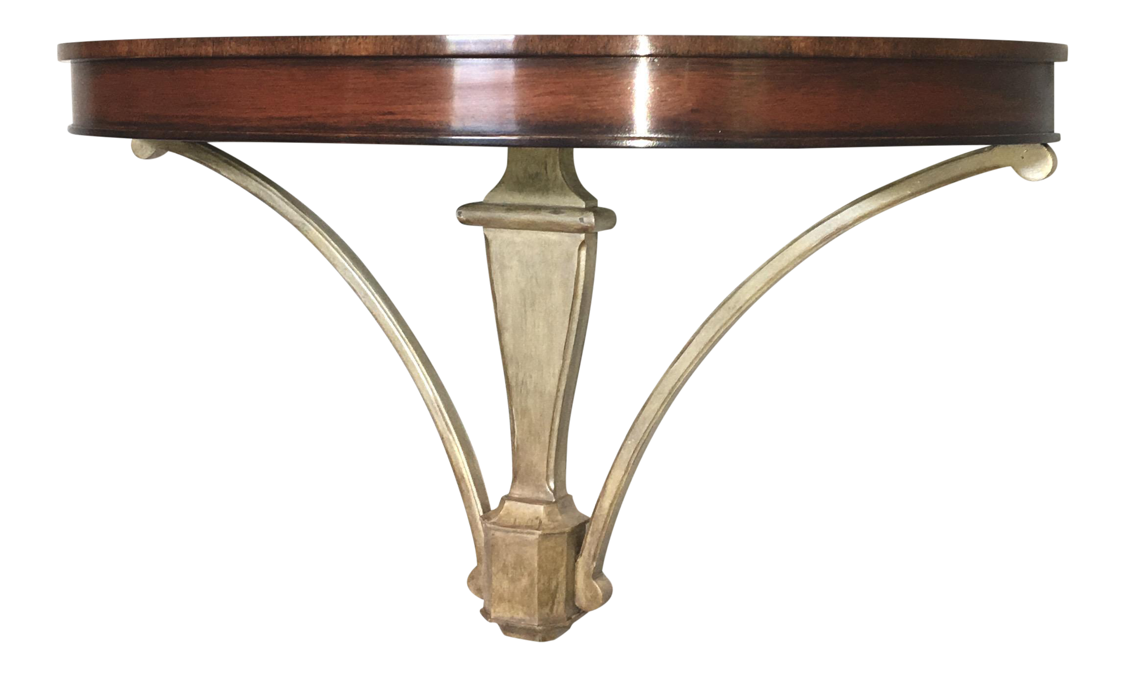 Marvelous Traditional Wall Mounted Wall Console Table   Image 1 Of 9